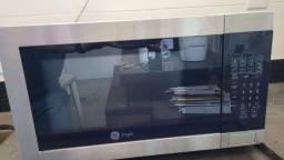 Título do anúncio: Forno microondas inox