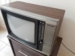 TV Sharp Antiga Funcionando