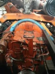 Motor scania 420 com revesor 4x1 zf