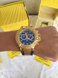 f7fd4d106bf Noma III dourado com pulseira azul !! Original