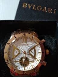 3bb9401642b Relógio Bvlgari dourado