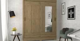 Título do anúncio: Guarda roupa b66 2prts com espelho