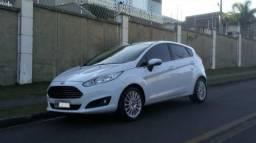 Fiesta Titanium 1.6 Branco - 2º Dono excelente estado - 2014