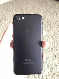 Iphone 7 black - 32gb / sem marcas de uso