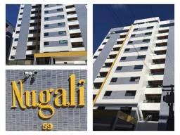 Aluga-se Excelente Apto Quarto e Sala no Edifício Nugali com 50m² - Praça Vera Arruda