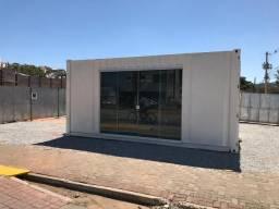 Container stand de vendas marítimo usado