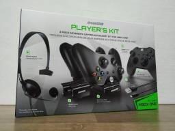 Players Kit Xbox One Dreamgear Bateria Carregador Headset