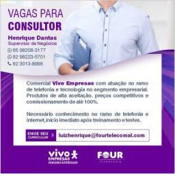 Consultor de Negócios Vivo Empresas