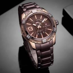 Relógio masculino importado original Naviforce de qualidade incrível
