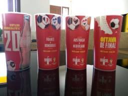 Conjunto copos Coca-Cola Copa 2014