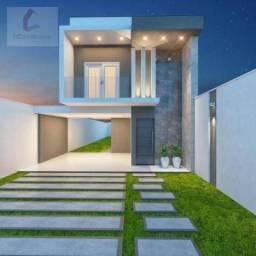 Casa com 3 dormitórios à venda, 132 m² por R$ 469.000,00 - Eusébio - Eusébio/CE