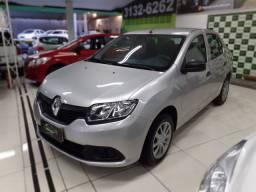 Renault Logan 1.0 Authentique - 2018 (econômico)