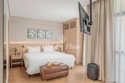 Flat para locação e venda no Hotel Address Faria Lima by Intercity com 1 dormitório, e 1 v