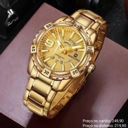 Relógio masculino original Naviforce de qualidade incrível