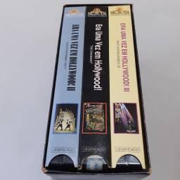 Doação box VHS Era Uma Vez em Hollywood