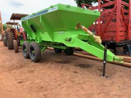 Distribuidor Calcario Fertilizantes Piccin 5.500 kilos - Tk Tratores Nova Andradina - MS