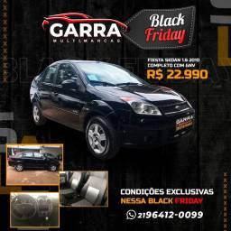 Fiesta sedan 1.6 2010 completíssimo gnv ent: 2.990,00 + 499,90