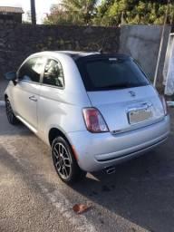 Fiat 500 cult 2012 completíssimo - 2012