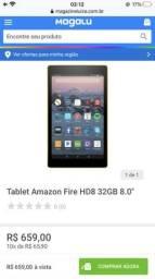 Tablet Fire HD8 Amazon importado
