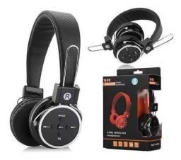 Fone De Ouvido Sem Fio Micro Sd Usb Fm Bluetooth A-b05