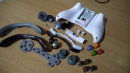 Peças diversas, botões, direcional etc controle xbox 360