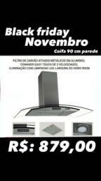 Novembro Black Friday Coifa 90 cm parede