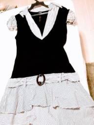 Lindo Vestido Carmim