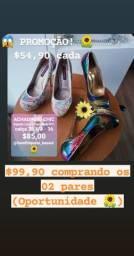 Sapatos feminino importado