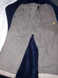 Calça social linho , body linho,suéter, pagão