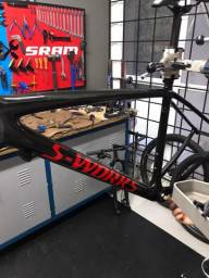 Quadro Specialized Epic Ht S-Works - 2019 - Tamanho 19 L - Carbon Fact 12m - 900g