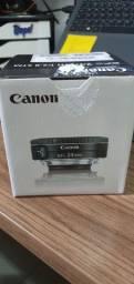 Lente Canon Ef-s 24mm F/2.8 Stm Wide Angle na Caixa