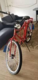 Bicicleta barra circular/barra forte