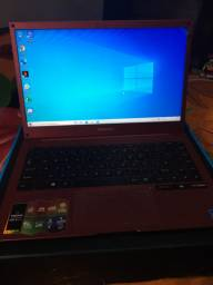 Vendo notebook positivo novo