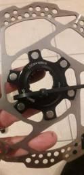 Disco center lock 1 unidade com tampa de rosca