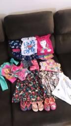 Lote de roupas de 12 a 24 meses