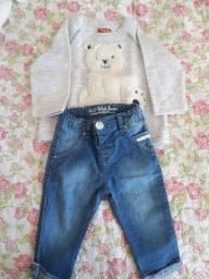 Vendo ou troco por roupa  de menina de 1 ano