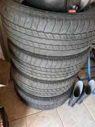 4 pneu Bridgestone Dueller Meia Vida