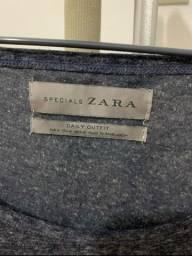 Regata Zara com bolso original Tamanho: M