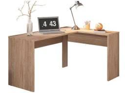 Mesa escrivaninha escrivaninha de escritório em L