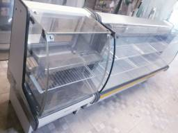 Kit balcão refrigerado e estufa Gelopar 220v