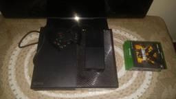 Xbox one com um controle(usado), 4 Jogos + tv Philips