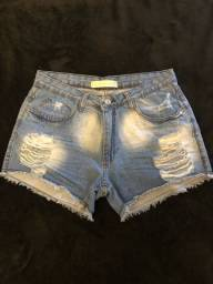 Shorta jeans curto