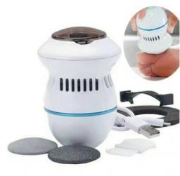 Pedicure Lixa / Lixadeira De Pé Elétrica Pilhas Removedor de Calo Esfoliador