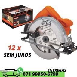 "Título do anúncio: Serra circular 7.1/4"" 1400W CS1004 Black+Decker 127v"