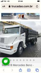 Mb 1418 truck graneleiro