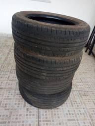 Vendo 4 pneus 14 185/60 R$250 os 4 tel- *