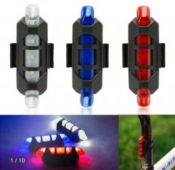 Título do anúncio: Lanterna/sinalizador traseiro bicicleta