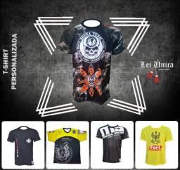 camisa T-shirt para equipes de lutadores