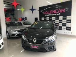 Título do anúncio: Renault Logan Life 1.0 Manual 2021 Financiamento Totalmente Sem Entrada