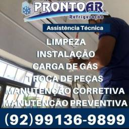 Título do anúncio: Limpeza de ar condicionado manutenção gás limpeza instalação?©?©?=`=